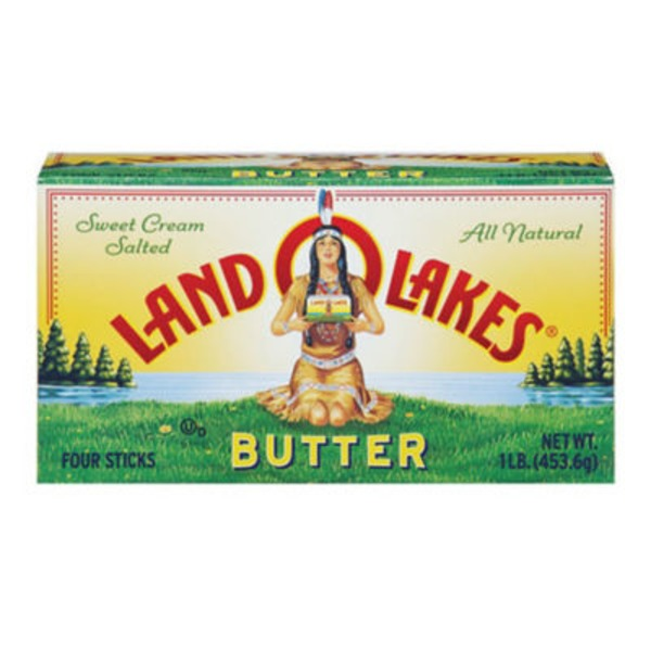 Land O Lakes® Sweet Cream Salted Sticks Butter