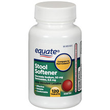 Equate with Stimulant Laxative Tablets Stool Softener