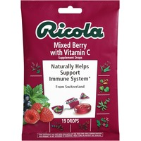 Ricola Mixed Berry with Vitamin C Supplement Drops