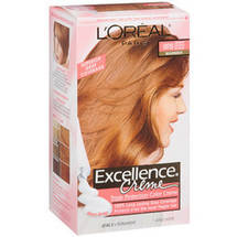L'Oreal Excellence Creme Medium Reddish Blonde Warmer 8Rb Hair Color