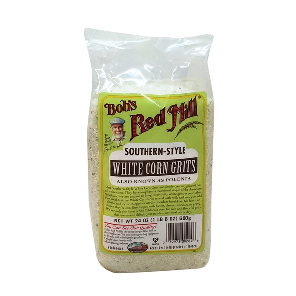 Bob's Red Mill Southern-Style White Corn Grits