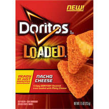 Doritos Loaded Nacho Cheese Breaded Cheese Snacks