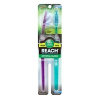 Reach Firm Crystal Clean Toothbrush Twin Pack