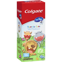 Colgate Children's My First Toddler Floride Free Toothpaste
