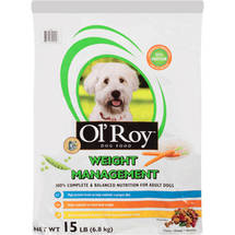 Ol' Roy Weight Management Dog Food