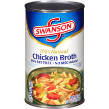 Swanson 99% Fat Free Chicken Broth