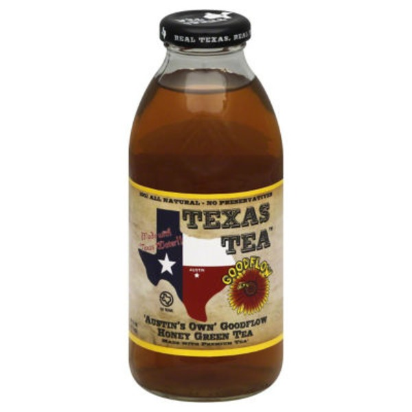 Texas Tea Austin's Own Goodflow Honey Green Tea