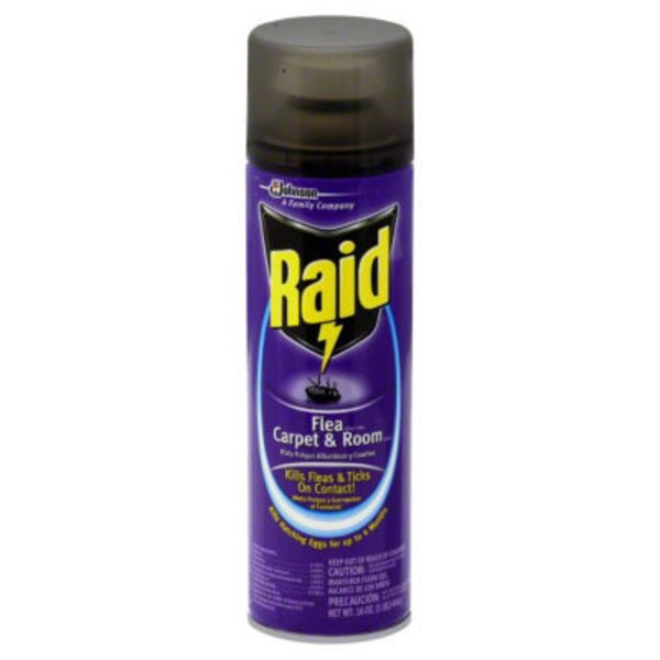 Raid Flea Killer Plus Carpet & Room Insecticide