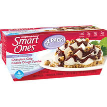 Weight Watchers Smart Ones Smart Delights Chocolate Chip Cookie Dough Sundae