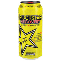 Rockstar Lemonade Recovery Energy   Hydration Drink