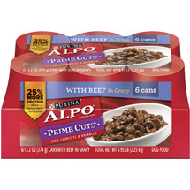 Alpo Wet Prime Cuts In Gravy Dog Food
