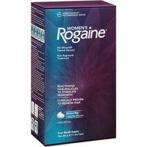 Rogaine for Women Hair Regrowth Treatment Foam 4 months supply
