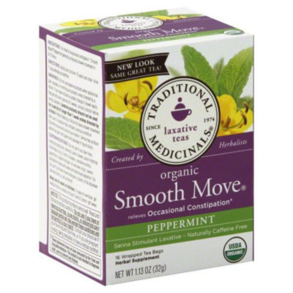 Traditional Medicinals Smooth Move Peppermint Tea