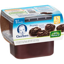 Gerber 1st Foods Prunes Baby Food