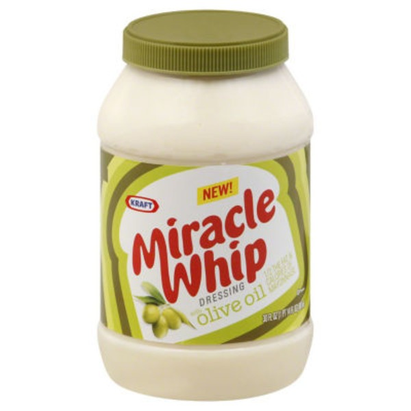 Kraft Miracle Whip with Olive Oil Dressing