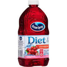 Ocean Spray Diet Cranberry Spray Juice 64 Fl Oz