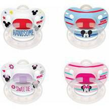 NUK Disney Mickey and Minnie Mouse Puller Pacifier BPA-Free