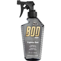 BOD Man Lights Out Fragrance Body Spray
