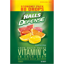 Halls Defense Vitamin C Drops