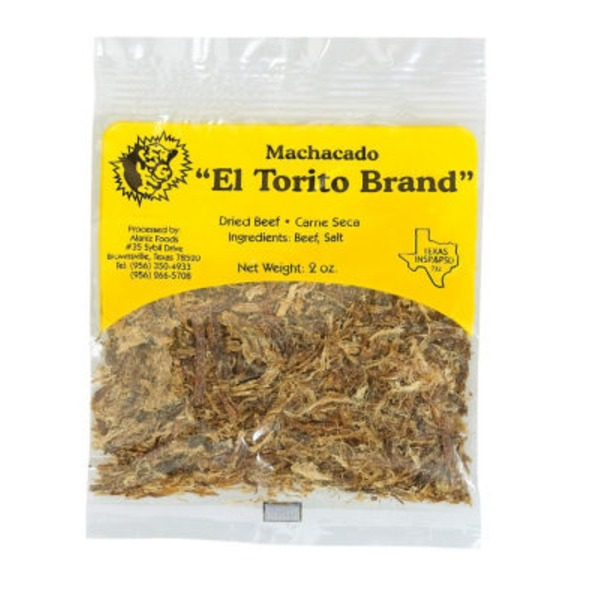 El Torito Machacado, Dried Beef