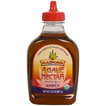 Madhava Natural Sweeteners Amber Agave Nectar