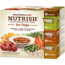Rachael Ray Nutrish for Dogs Natural Wet Food Varity Pack