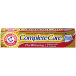 Arm and Hammer Complete Care Stain Defense Toothpaste with Baking Soda & Peroxide