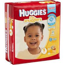 Huggies Little Snugglers Diapers Size 5