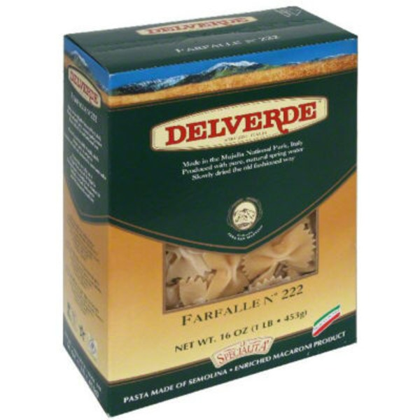 Delverde Imported Farfalle
