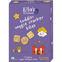 Ella's Kitchen Toddler Veggie Cracker Bites