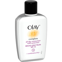 Olay Complete All Day Moisturizer With Sunscreen SPF 15 Combination/Oily Skin