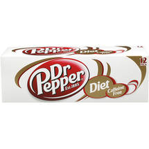 Diet Caffeine Free Dr Pepper Soda Cool Pack