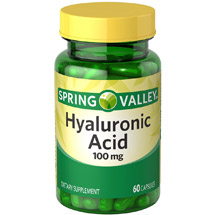 Spring Valley Hyaluronic Acid Capsules