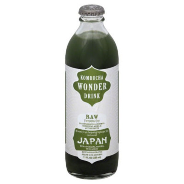 Wonder Kombucha Japan Raw Fermented Tea