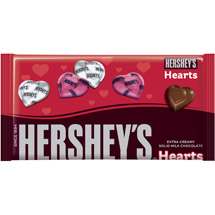 Hershey's Extra Creamy Solid Milk Chocolate Hearts