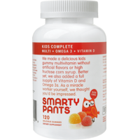 SmartyPants Kids Complete Vitamin Gummies - 120 CT