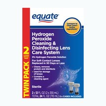 Equate Cleaning & Disinfecting Lens Care System