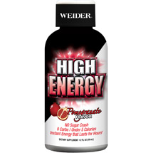 Weider High Energy Pomegranate Flavor Dietary Supplement