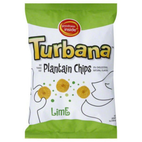 Goodness Inside Turbana Lime Plantain Chips