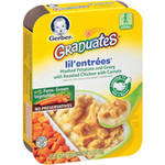 Gerber Graduates Lil Entrees Complete Meals Mashed Potatoes & Gravy w/Roasted Chicken