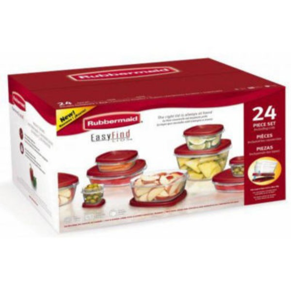 Rubbermaid 24 Piece Set