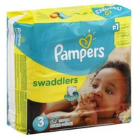 Pampers Swaddlers Jumbo Pack Size 3 Diapers