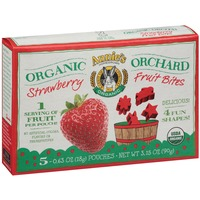 Annie's Homegrown Organic Strawberry 5-0.63 oz Pouches Organic Orchard Fruit Bites