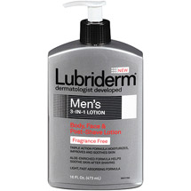 Lubriderm Men's 3-In-1 Lotion Fragrance Free