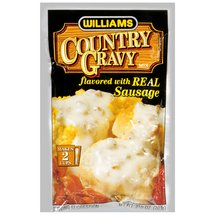 Williams Country Flavored Gravy Mix With Real Sausage