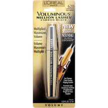 L'Oreal Paris Voluminous Million Lashes Mascara 620 Carbon Black