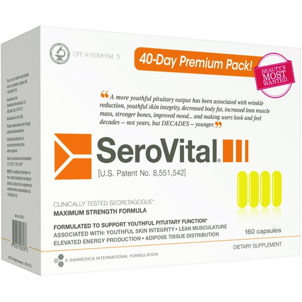 Sero Vital Maximum Strength Formula Secretagogue