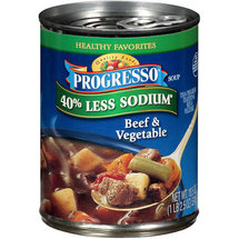 Progresso Quality Foods Beef & Vegetable Soup