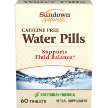 Sundown Naturals Herbal Supplement Natural Water Pills