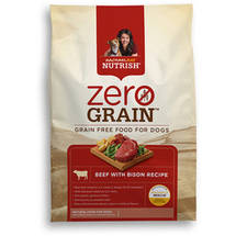 Rachael Ray Zero-Grain Beef and Bison Recipe Dry Food for Dogs